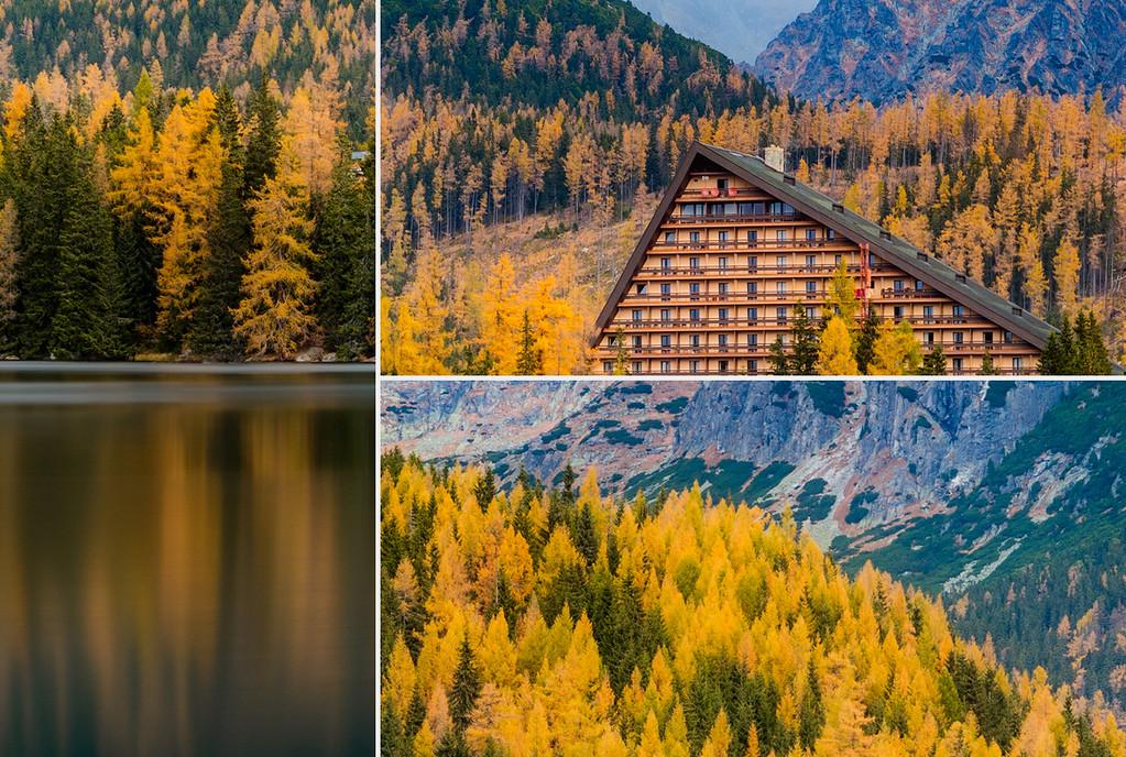 Autumn at the lake, Strbske pleso, Slovakia