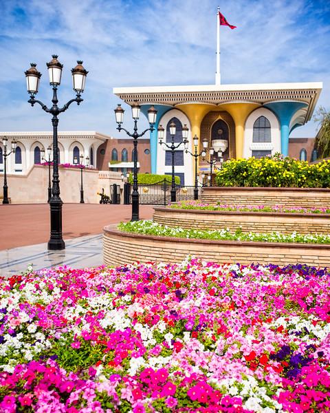 The Al Alam Palace (Muscat, Sultanate of Oman 2017)