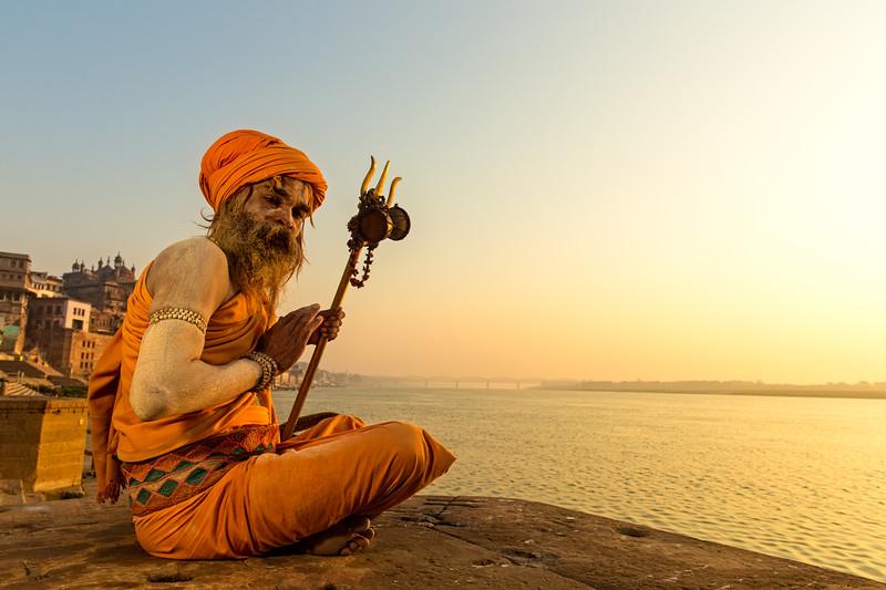 The sadhus of Benares (Varanasi, India 2015)