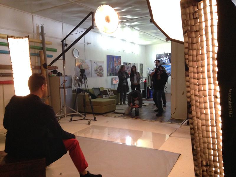 Vertice TV en Nuestro estudio.