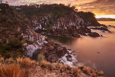 Cliffs Near Dodges Ferry