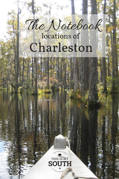 The Notebook Locations of Charleston