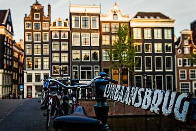 Lijnbaansbrug bridge (Amsterdam, Netherlands 2015)