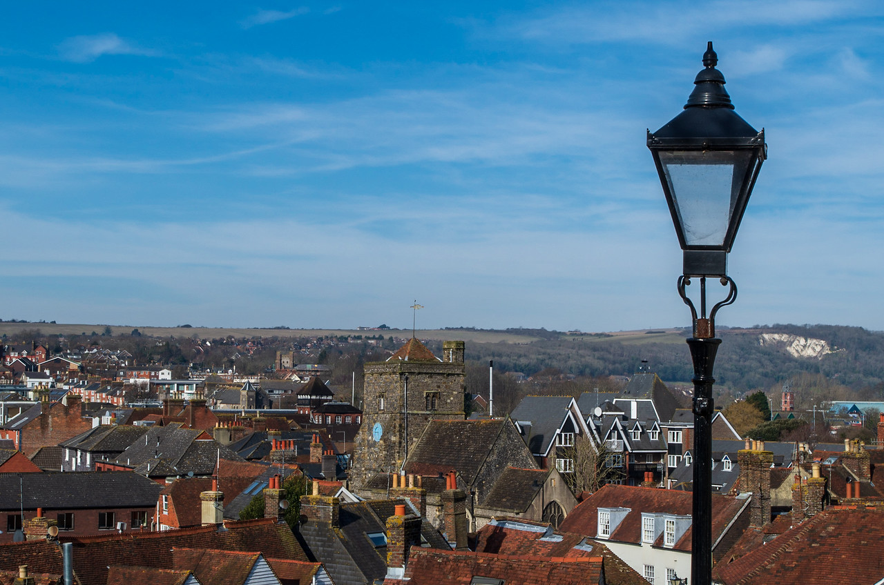 Rooftops of Lewes