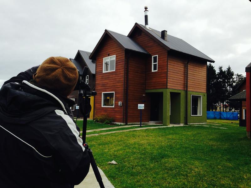 Viento Frio y  fotografía de casas
