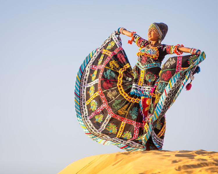 Homage to the Sun (Jaisalmer, India 2015)