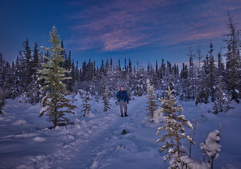 Winter Near Our Cabin