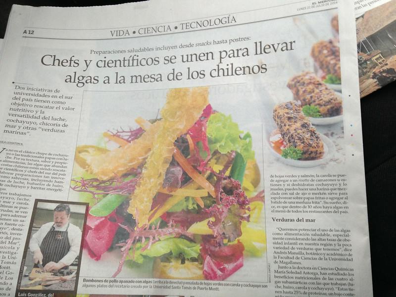 Fotografías en El Mercurio de Santiago