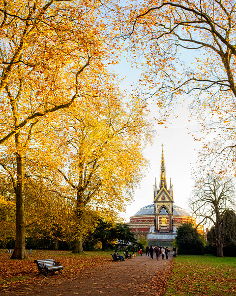 The Autumnal colors of Hyde Park (London, United Kingdom 2016)