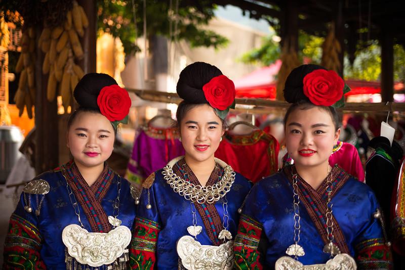 Xijiang, home of the one thousand families (Guizhou, China 2016)