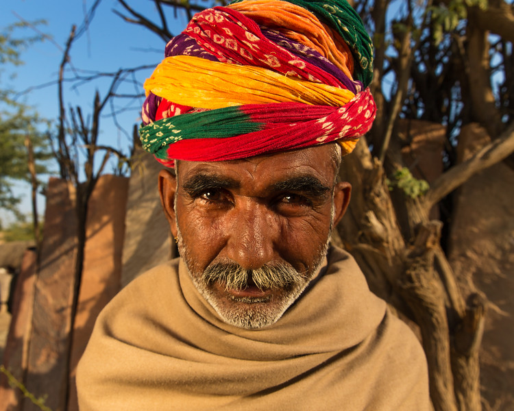 The man from Barna (Jodhpur, India 2015)