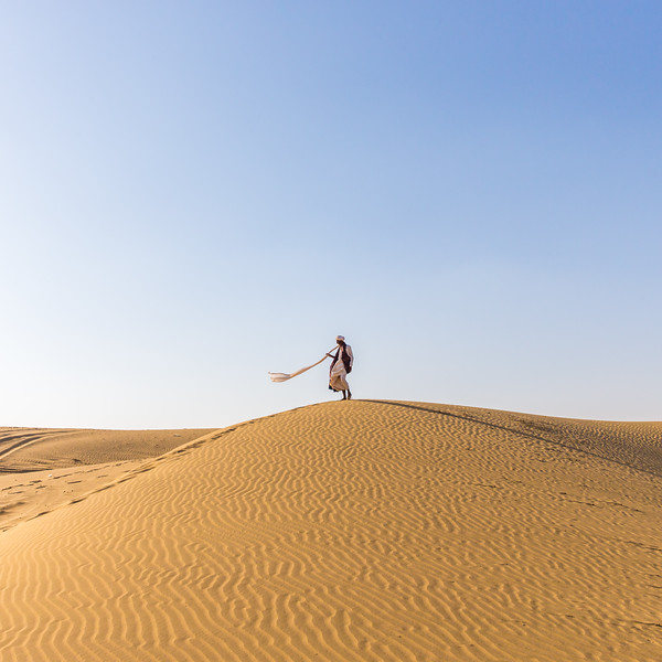 When the sand turns to gold (Thar Desert, India 2015)