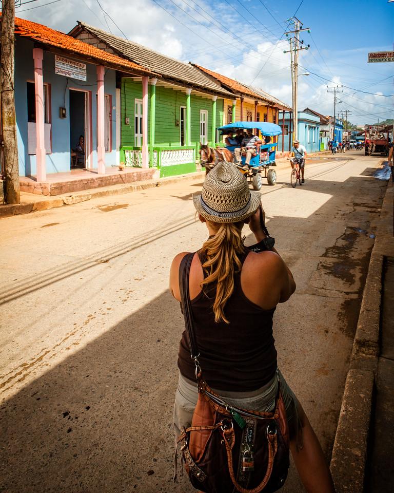 Street Photographer (Baracoa, Cuba 2012)
