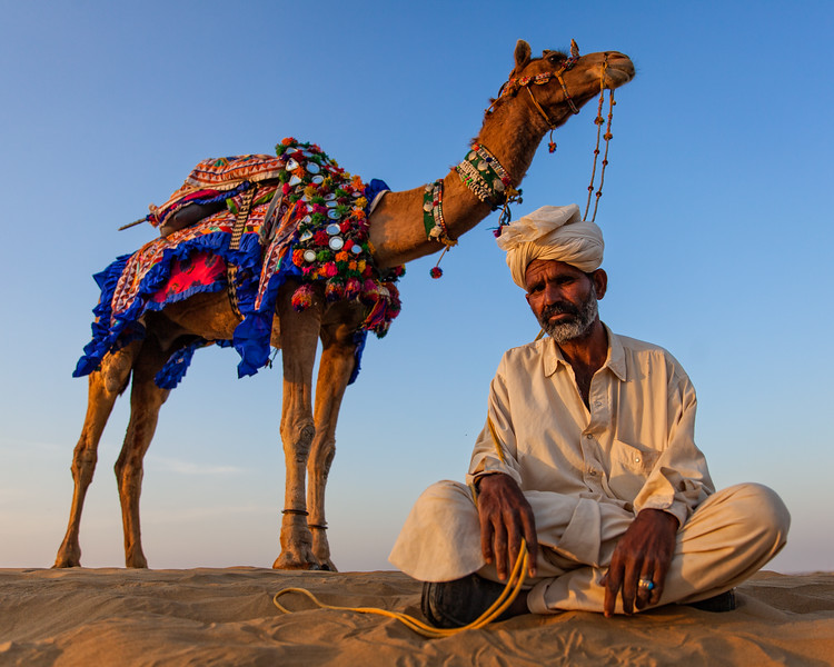 The Thar Desert Cameleer (Jaisalmer, India 2015)