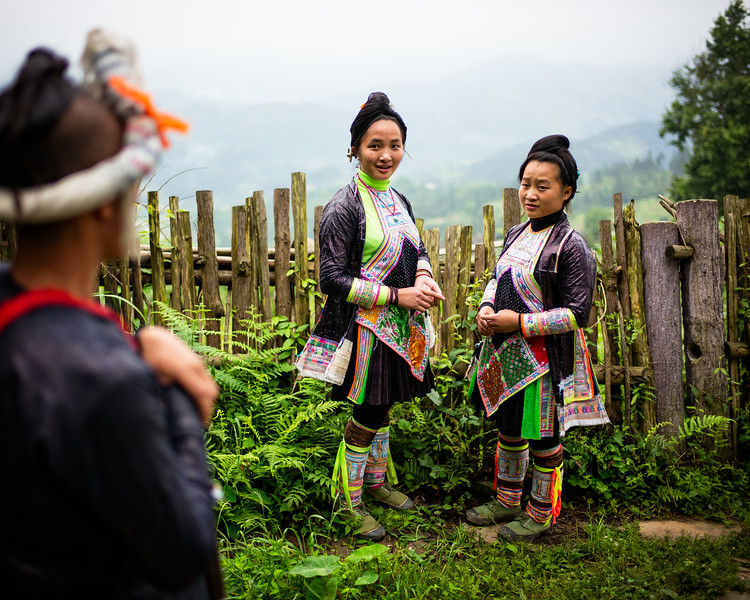 The Miao girls from Basha (Guizhoiu, China 2016)