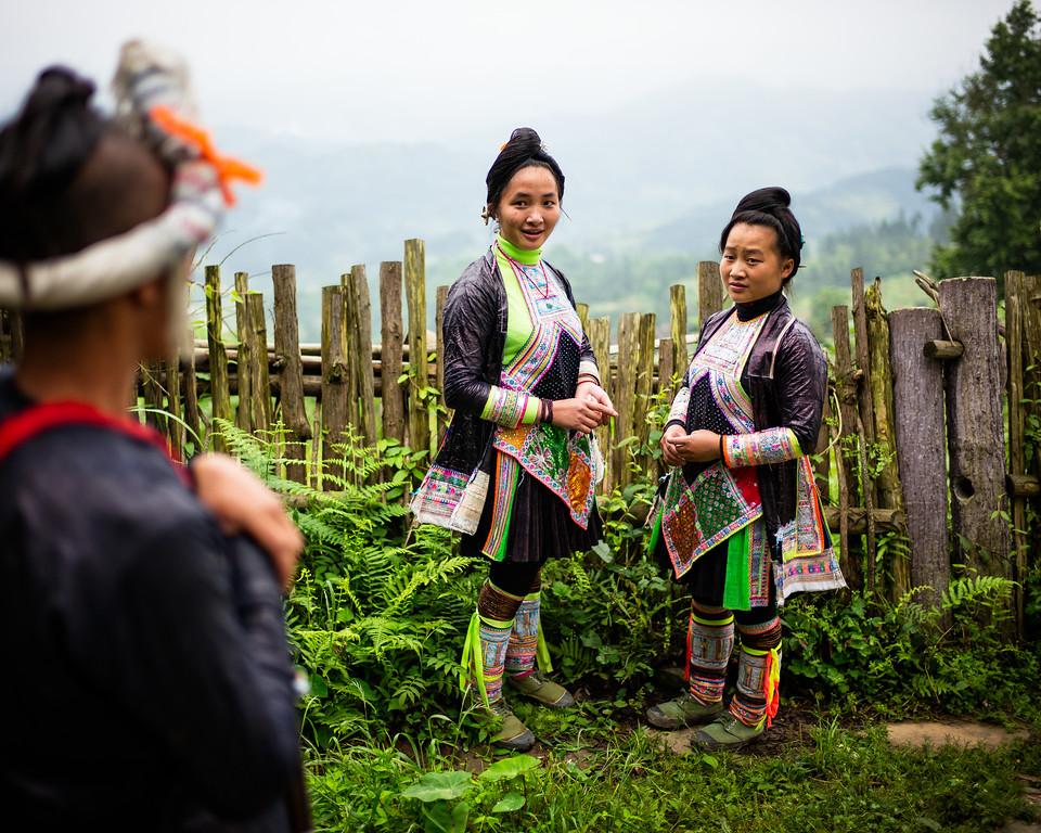The Miao girls from Basha (Guizhoiu, China 2016)