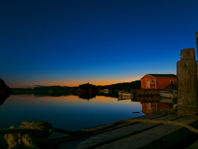 Newfoundland Blue Hour
