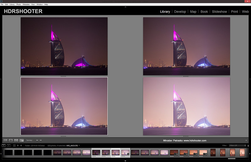 Neon light on top