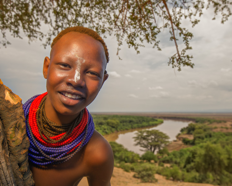 The Karo Girl from Kolcho (Omo Valley, Ethiopia 2014)