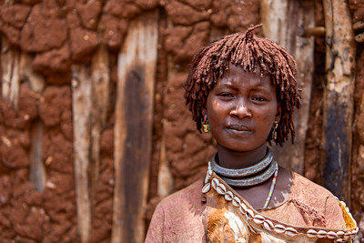 "Hamer ""Second Wife"" in the Woyeto town market (Omo Valley, Ethiopia 2014)"