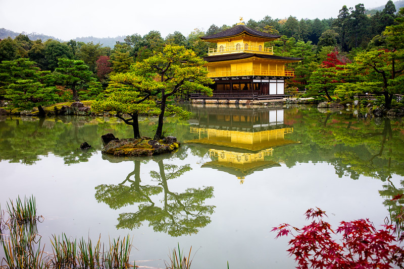 Temple of the Golden Pavilion (Kyoto, Japan 2015)