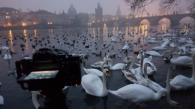behind the camera in Prague