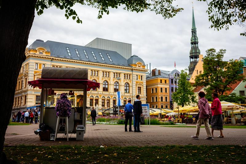 Livu Square (Riga, Latvia 2018)