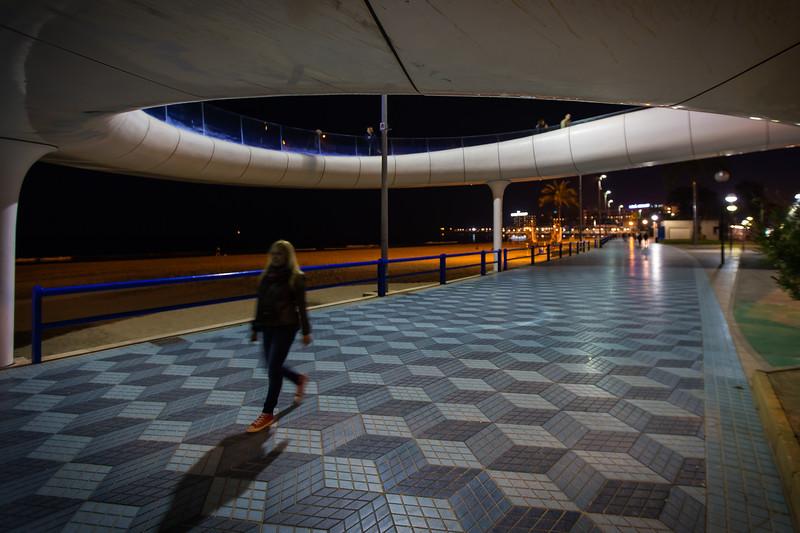 Pasarela del Postiguet (Alicante, Spain 2014)