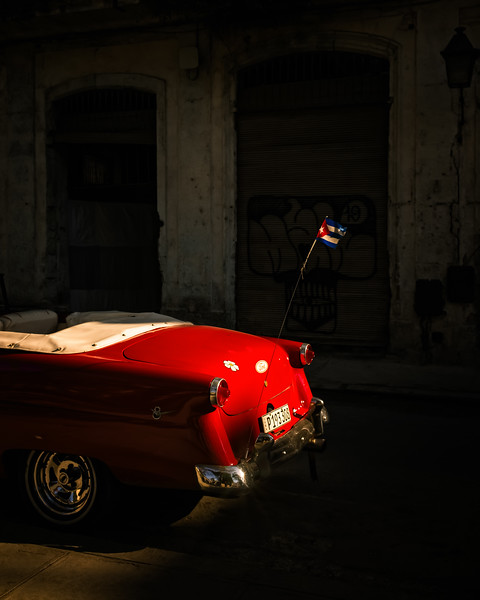 The Red Convertible (Havana, Cuba 2019)
