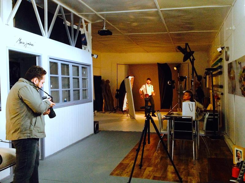 Retratos al estilista Abud Georgos en mi estudio