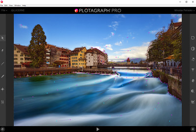 Lucerne waves in Plotagraphy Pro