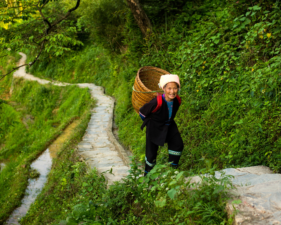 Climbing the Dragon's Backbone (Guangxi, China 2016)