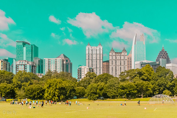 Summer in the city (a homage to Ben Thomas)