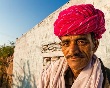 The man from Barna (Jodhpur, India 2015)