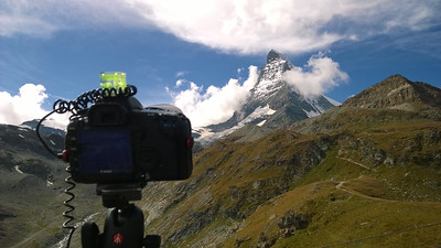 Behind the camera at Matterhorn