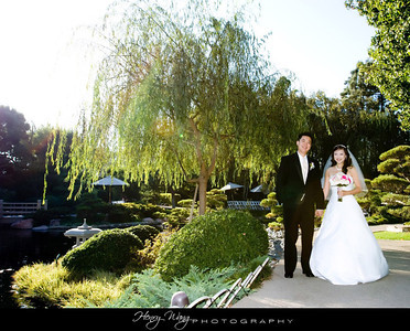 Cal State Long Beach Japanese Garden Wedding Ceremony