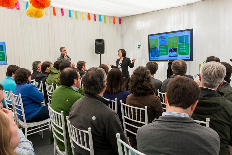 Cobertura de Eventos: Ewos - Cargill en Colaco
