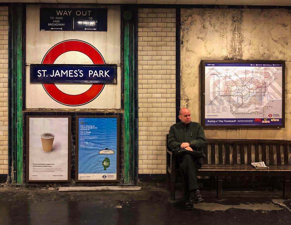 St. James's Park Tube Station (London, United Kingdom 2017)