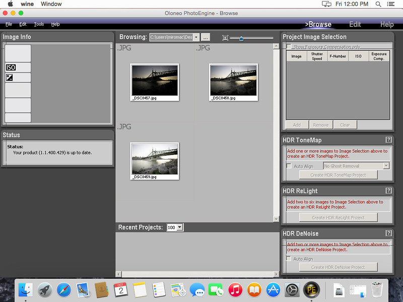 How to use Oloneo Photoengine on a Mac