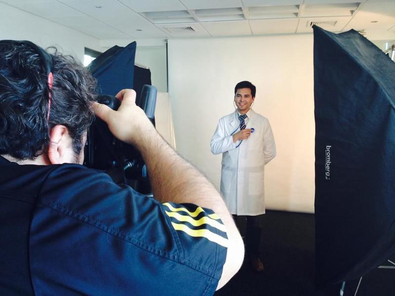 Cambio de Imagen Clinica Los Andes