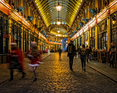 Leadenhall Market (City of London, United Kingdom 2016)