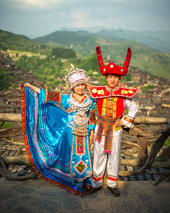 Xijiang, home of the one thousand Miao families (Guizhou, China 2016)