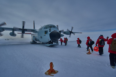Leaving South Pole