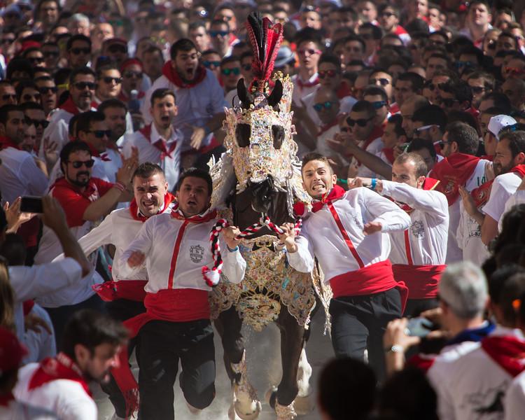 Los Caballos del Vino (Caravaza de la Cruz, Spain 2014)