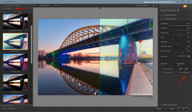 Few tips for Color Efex Pro