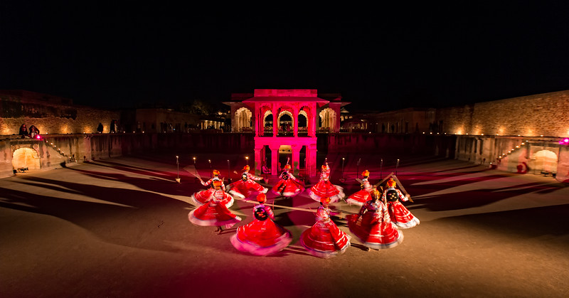 World Sufi Spirit Festival in the Nagaur Fort (Rajasthan, India 2015)