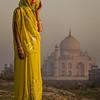 The Yellow Sari (Agra, India 2015)