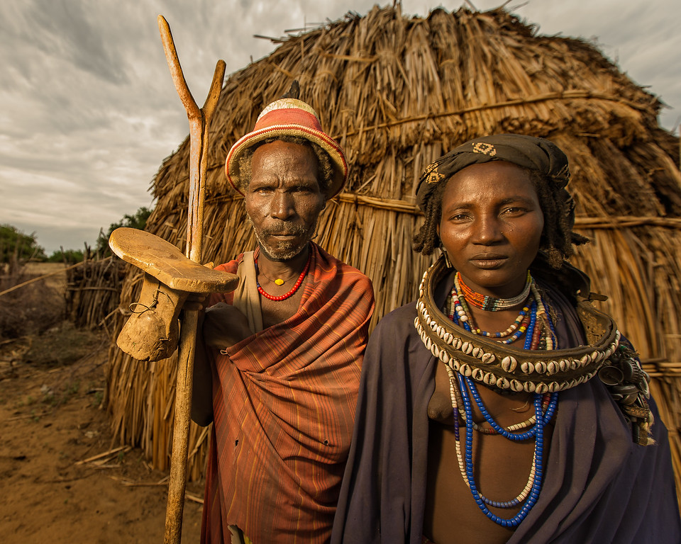 The Arbore Elders (Omo Valley, Ethiopia 2014)