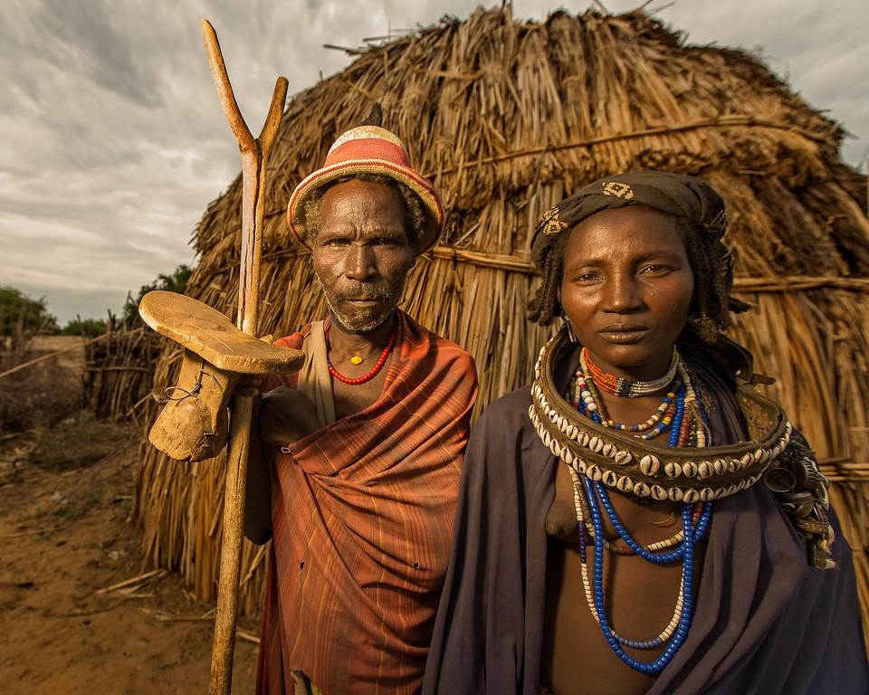The Arbore Elders (Omo Valley, Ethiopia 2014)