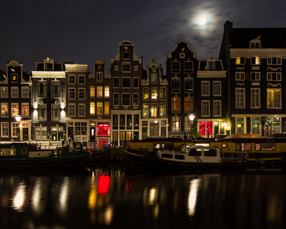 The Singel Canal (Amsterdam, Holland 2015)